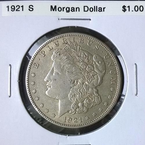 1921 S Morgan Dollar - 6 Photos!