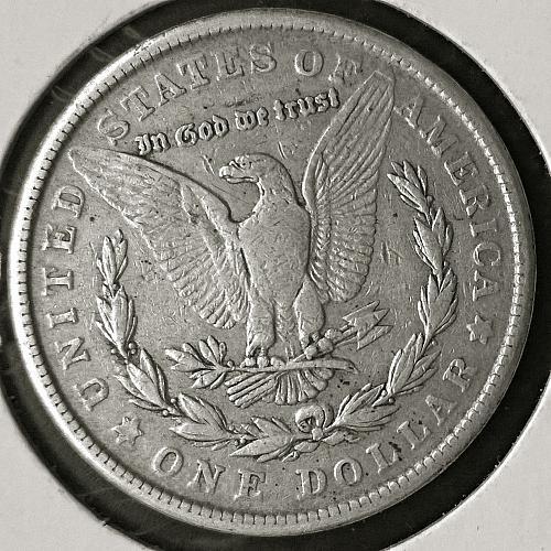 1921 S Morgan Dollar-VAM 1E or VAM 1BV-Missing Upper Tail Feathers - 10 Photos!