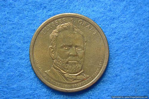 2011 D Presidential Dollars: Ulysses S. Grant