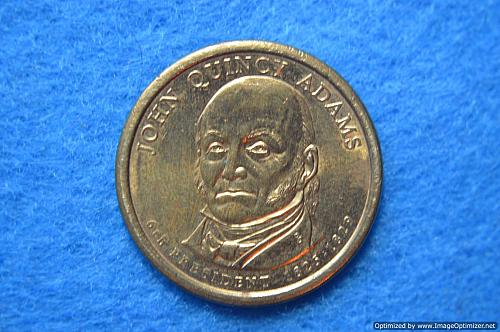 2008 D Presidential Dollars: John Quincy Adams