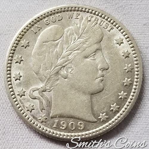 1909 Barber Quarter - AU