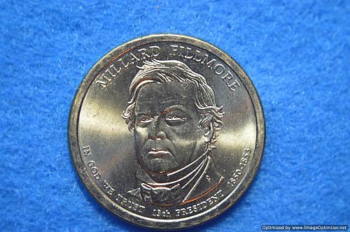 2010 D Presidential Dollars: Millard Fillmore
