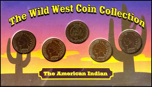 Wild West Coin Collection: American Indian