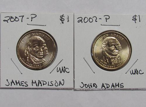 2007 P John Adams and James Madison BU
