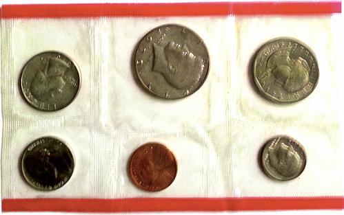 1979 P+D U.S. Uncirculated Mint Sets 12 coins -Original Mint Cellophane