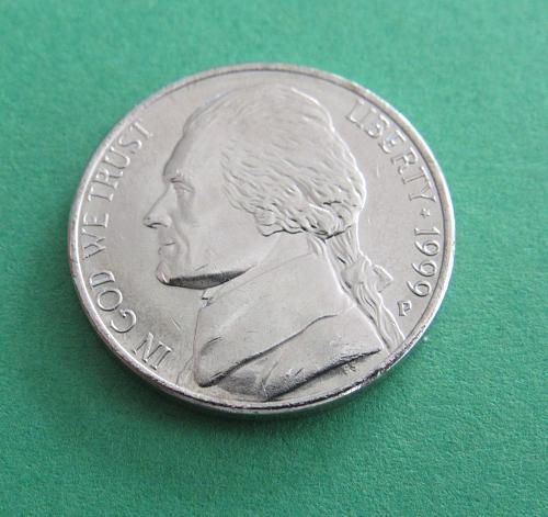 1999-P 5 Cents - Jefferson Nickel