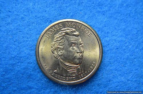 2008 D Presidential Dollars: James Monroe