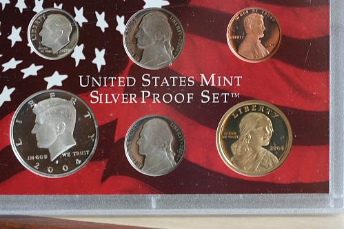 2004 S Silver Proof 11 Piece Set with COA.