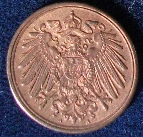 1913A Germany/Empire Pfennig UNC