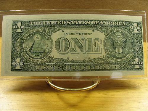 1993 One Dollar Error ( Rev.Faulty Alignment ) Ch CU