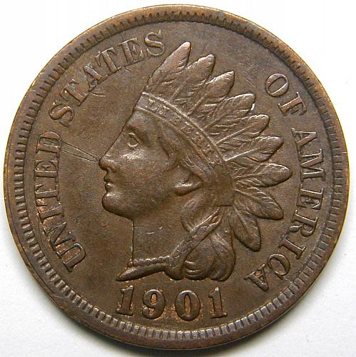 1901 Indian Head Cent #23