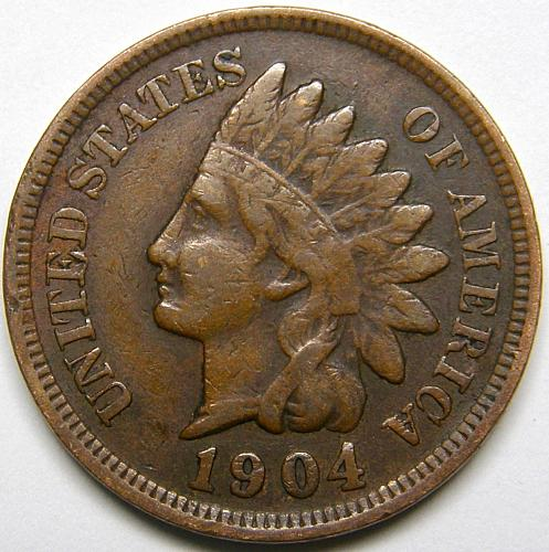 1904 Indian Head Cent #16
