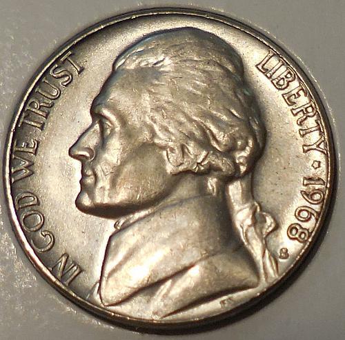 1968-S Jefferson Nickel *