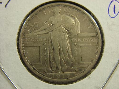 1917 P Standing Liberty (Type-1) #1