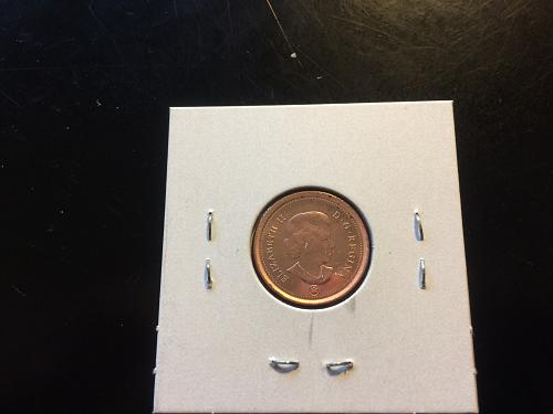 2012 CANADIAN PENNY (NON-MAGNETIC)