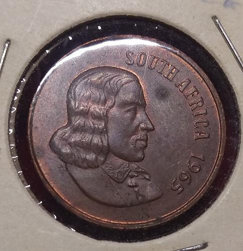south africa 2 cents 1965