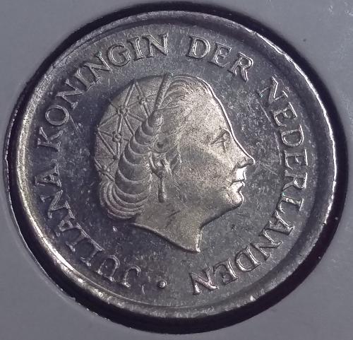 Netherlands 25 cents 1980