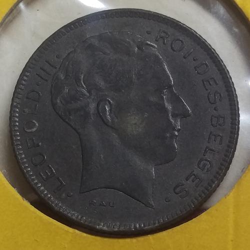 Belgium 5 Francs 1945