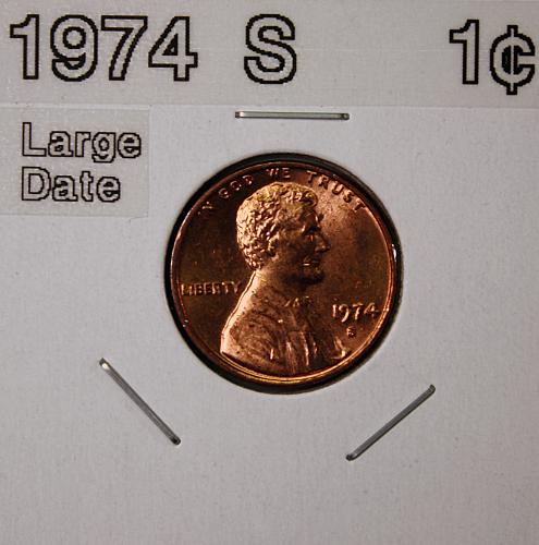 1974 S Lincoln Memorial Cent