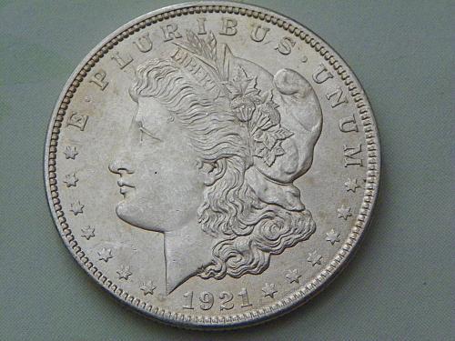 1921-P Morgan Dollar