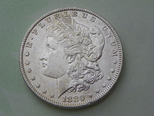 1880-O Morgan Dollar