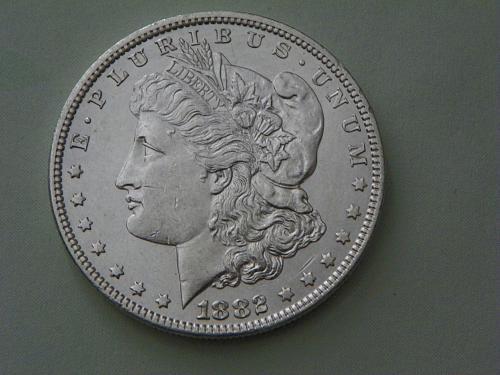 1882-P Morgan Dollar
