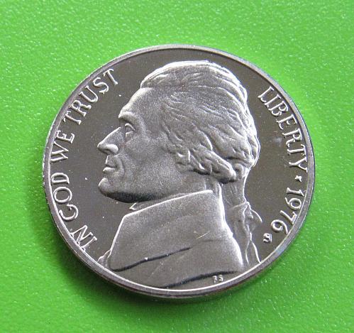 1976-S 5 Cents - Jefferson Nickel (Proof)