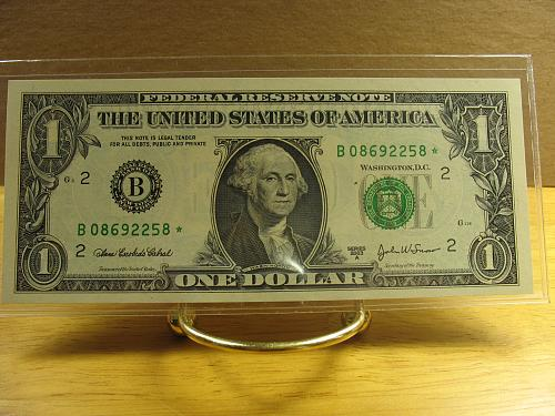 2003 A $1.00 Fed Reserve (STAR) Note CH CU