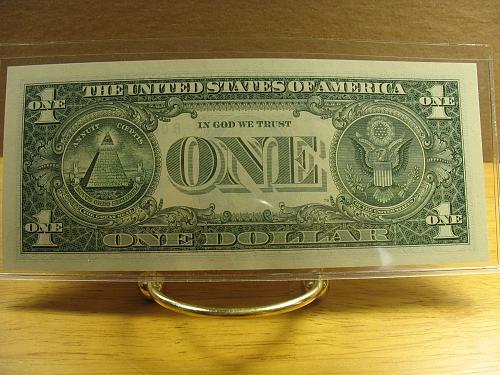 2003 A $1.00 Fed Reserve (STAR) Note CH CU