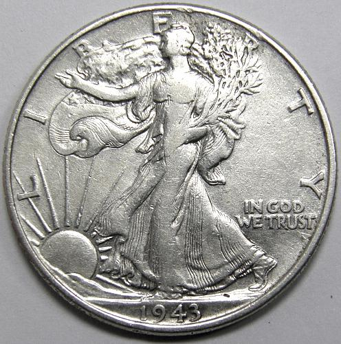1943 P Walking Liberty Half Dollar #1