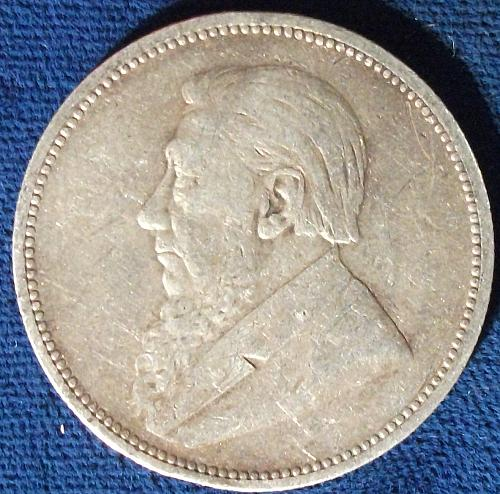 1894 South Africa 2 Shillings VF++