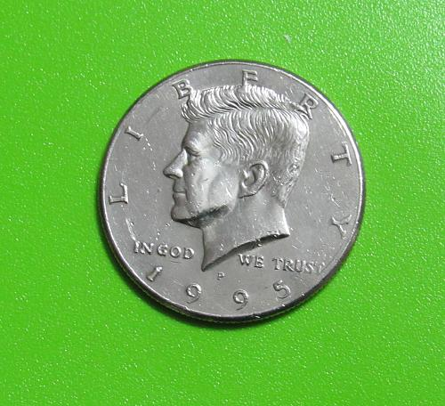 1995-P 50 Cents - Kennedy Half Dollar