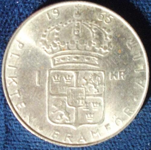 1965 Sweden Krona UNC