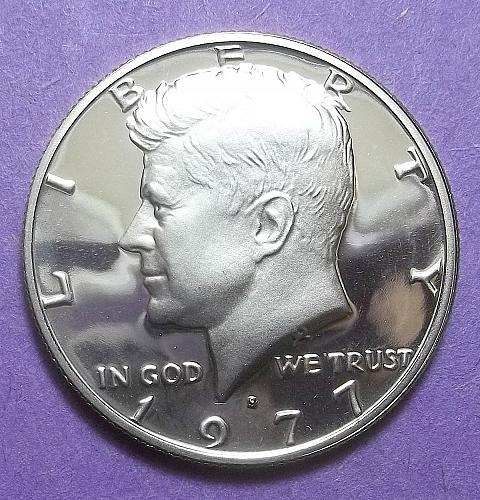 1977 S Kennedy Half Dollar Lot HDKen