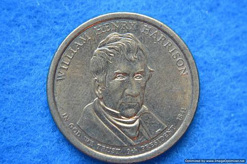 2009 D Presidential Dollars: William Henry Harrison