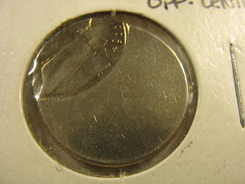 1996 P Jefferson Nickel (Error) BU