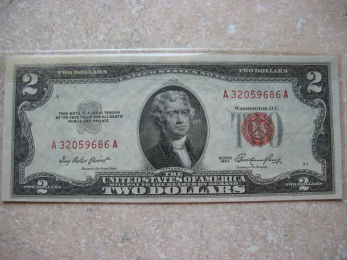 1953 $ 2.00 United States Note