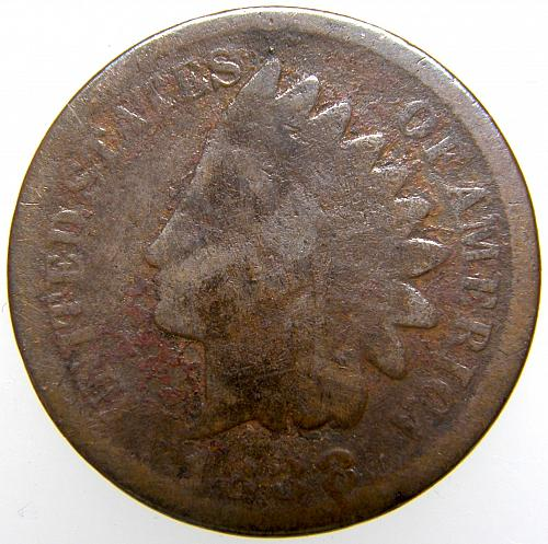 1888 P Indian Head Cent #22