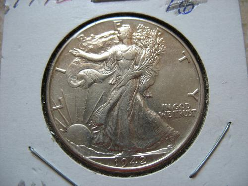 1942 P Walking Liberty Half Dollar #1