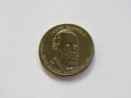 2011-P $1 - James A. Garfield Presidential Dollar