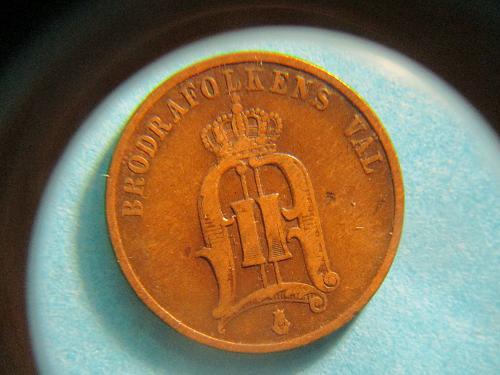 1890 Sweden /Denmark etc? (2 ORE)