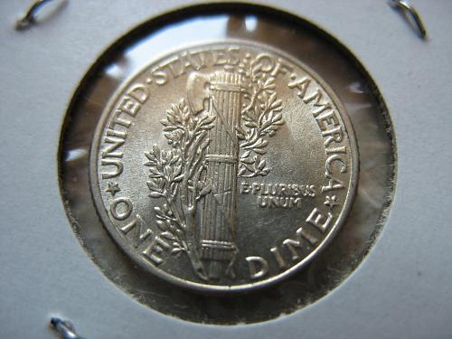 1940 P Mercury Dime