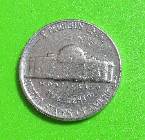 1963-D 5 Cents - Jefferson Nickel
