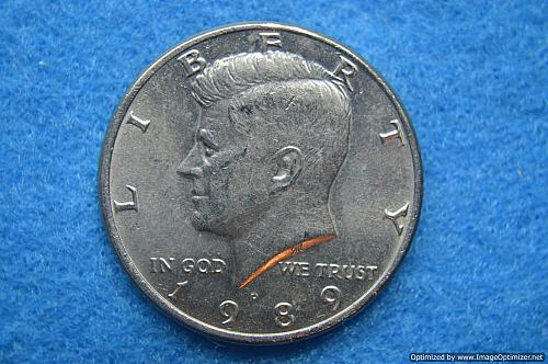 1989 P Kennedy Half Dollars