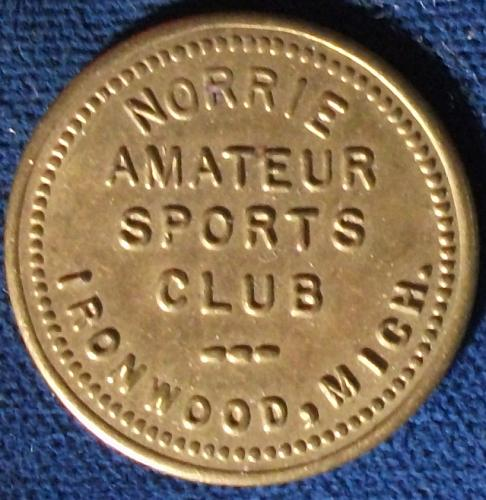 Norrie Amateur Sports Club, Ironwood, MI 5 Cents in Trade