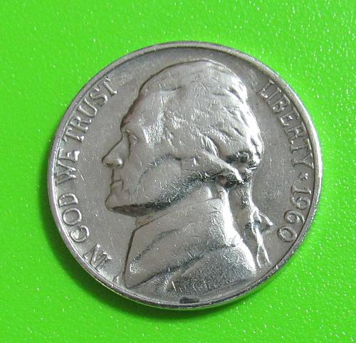 1960-D 5 Cents - Jefferson Nickel