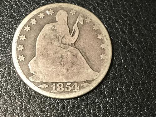 1854 O Seated Liberty Half Dollar Item 0818010