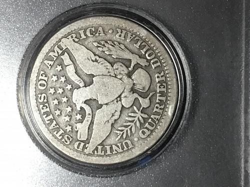 1907 Barber Quarter Item 0818026