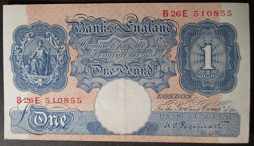 Great Britain P369a Pound XF