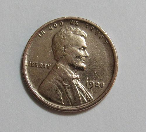 1920 1 Cent - Lincoln Wheat Cent